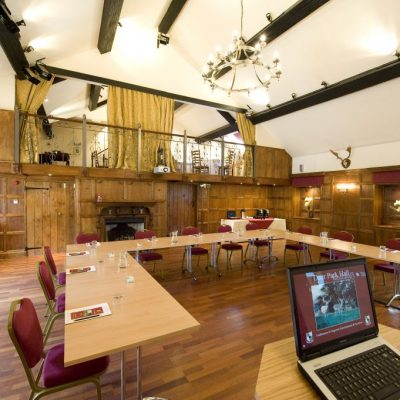 old panelled hall - conference setting 4 - U